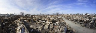 Hurricane Sandy Debris Breezy Point