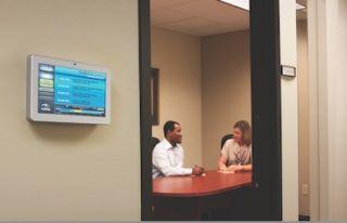 Visix Adds 10-inch Interactive MeetingMinder