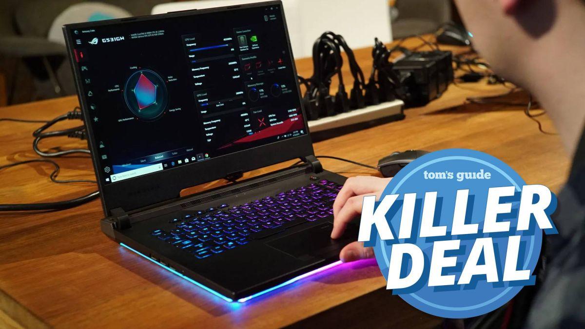 Killer Deal: Take $400 off Asus ROG gaming laptop