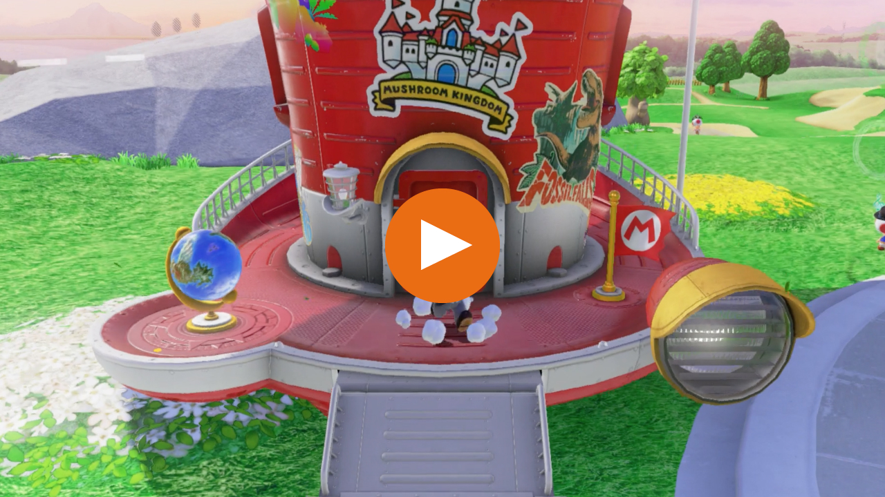 How to access the two secret Kingdoms in Super Mario Odyssey