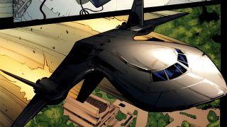 the X-Men's Blackbird jet