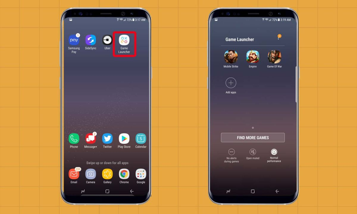 How to Set Up Game Launcher on the Galaxy S8 - Samsung