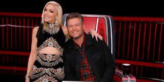 Gwen Stefani and Blake Shelton The Voice NBC