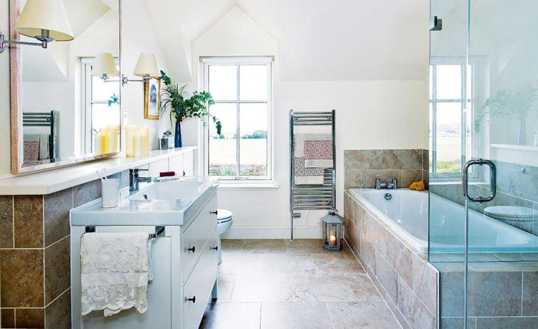 How To Design A Large Bathroom Real Homes