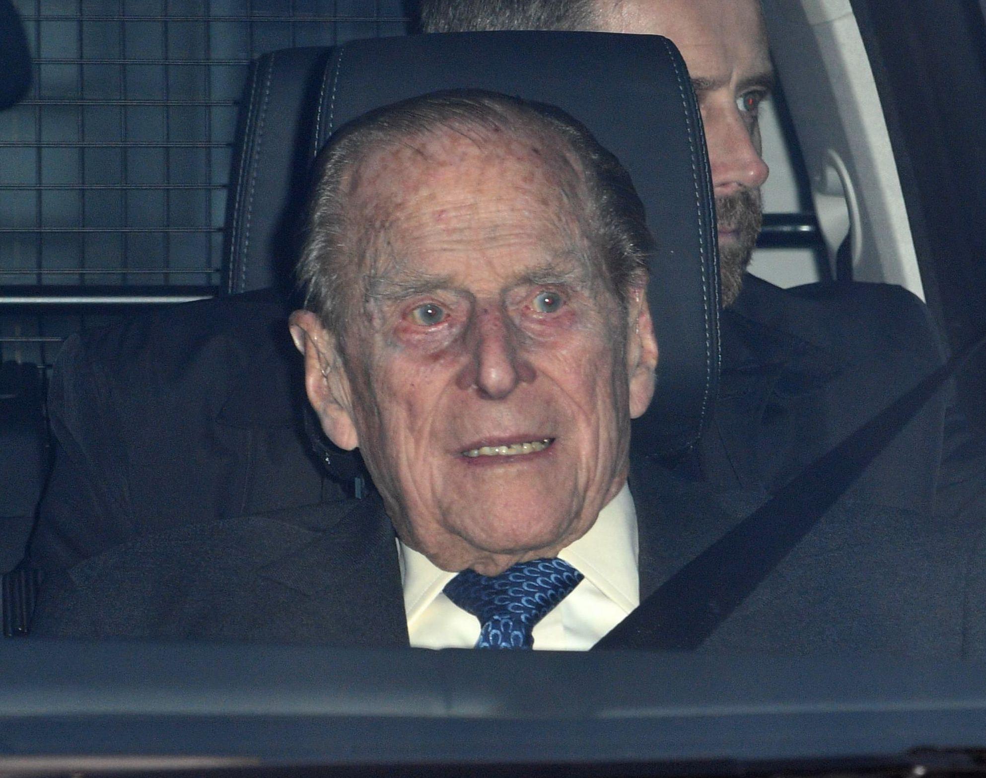 Prince Philip S Reaction Following Sandringham Crash