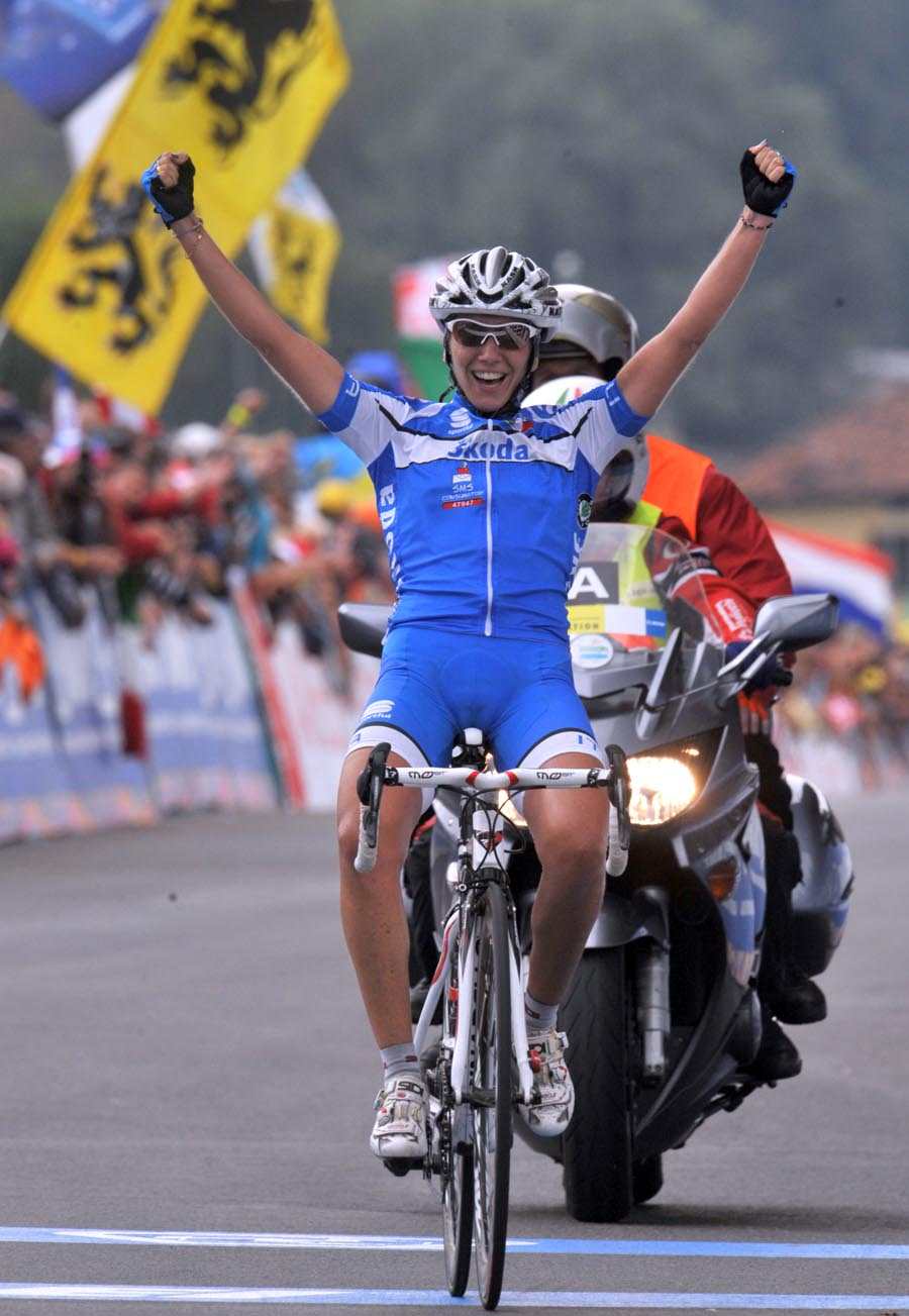 Tatiana Guderzo, World Championships 2009, women's road race