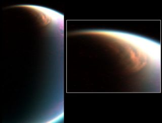 Titan Methane Ice Cloud