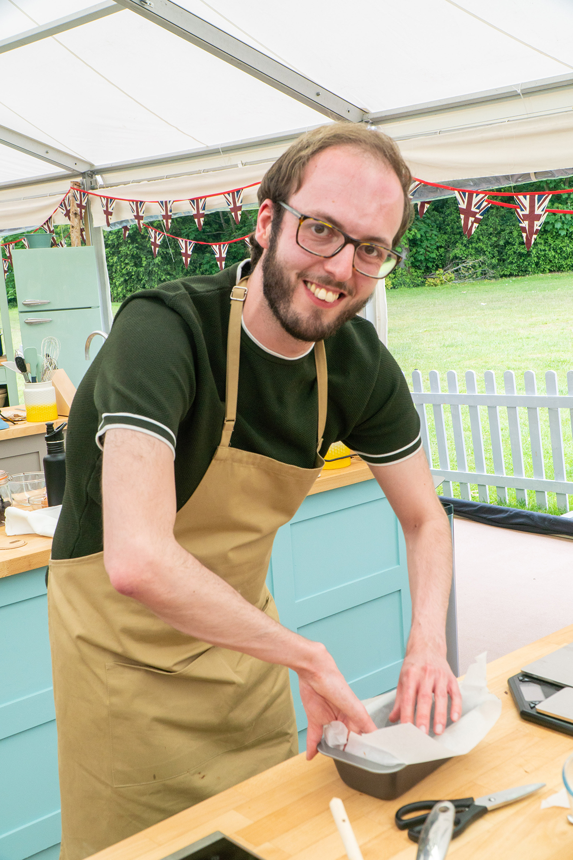 Tom The Great British Bake Off