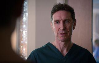 Holby City spoilers: Professor John Gaskell plans radical brain op!