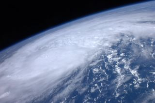 High above the Earth from aboard the International Space Station, astronaut Ron Garan snapped this image of Hurricane Irene as it passed over the Carribean on Aug. 22, 2011.