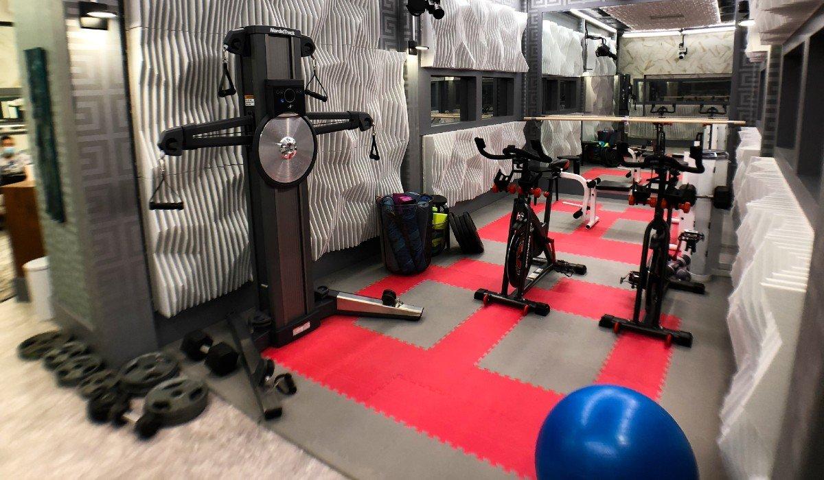 Workout Room Big Brother Season 23