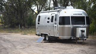 airstream glamping trailer