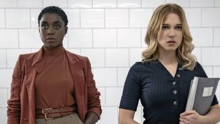 Lashana Lynch and Léa Seydoux in No Time to Die