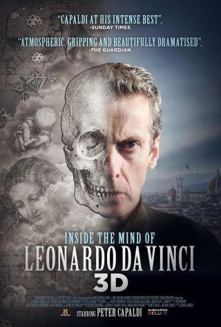 Inside the Mind of Leonardo movie poster.