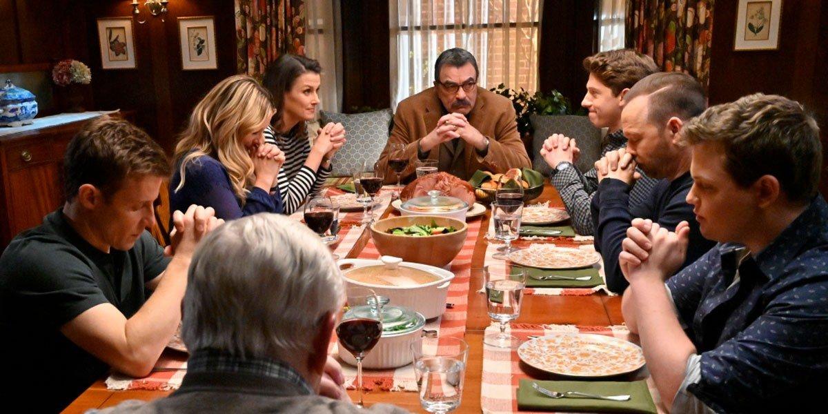 Blue Bloods reagan dinner scene
