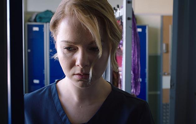 Holby City Amy Lennox plays Chloe Godard