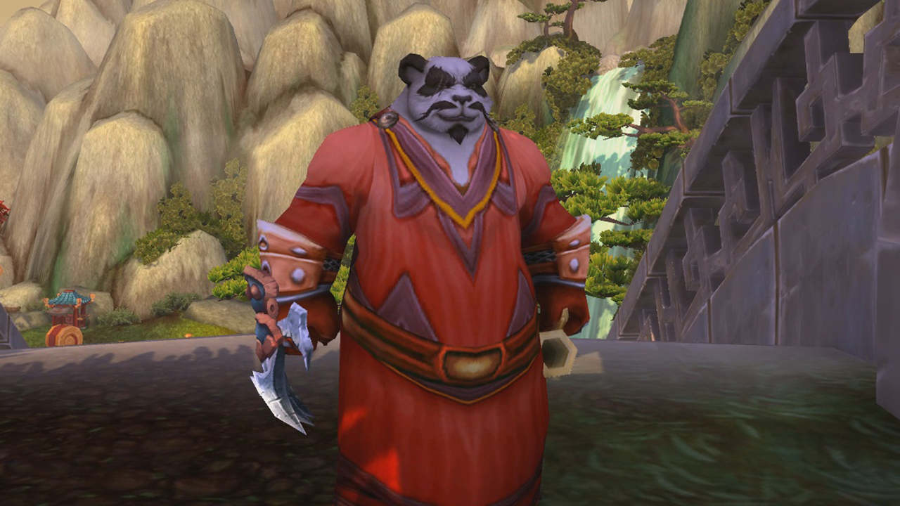 Meet WoW's biggest hippie, a panda who reached max level by picking