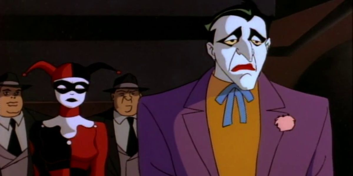 Joker and Harley Quinn from Batman: The Animated Series