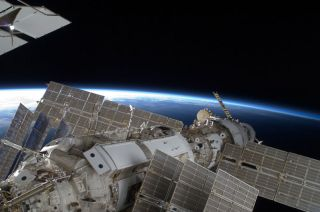 Shuttle Astronauts in Homestretch of Space Mission