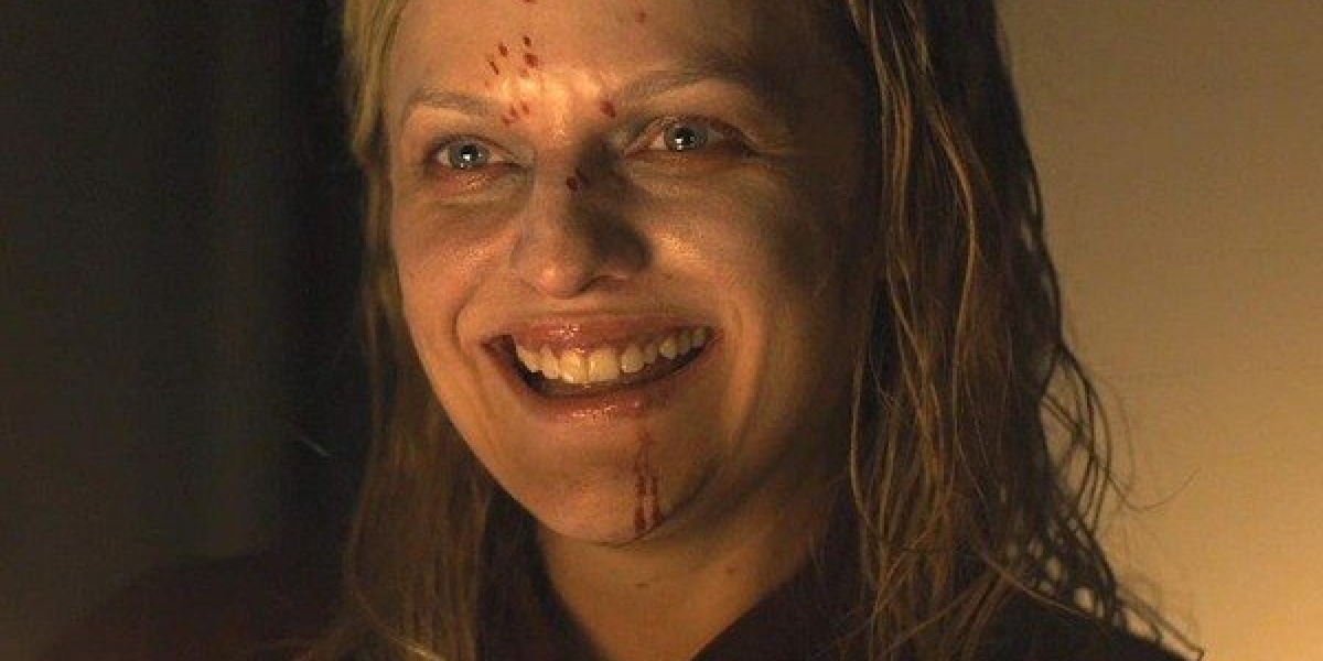 Elisabeth Moss as Kitty in the thriller, Us.