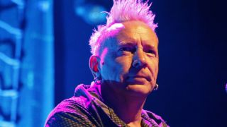 A close-up of John Lydon