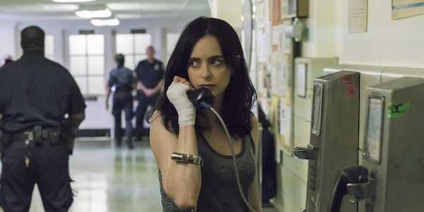 Jessica Jones on the phone in Season 2