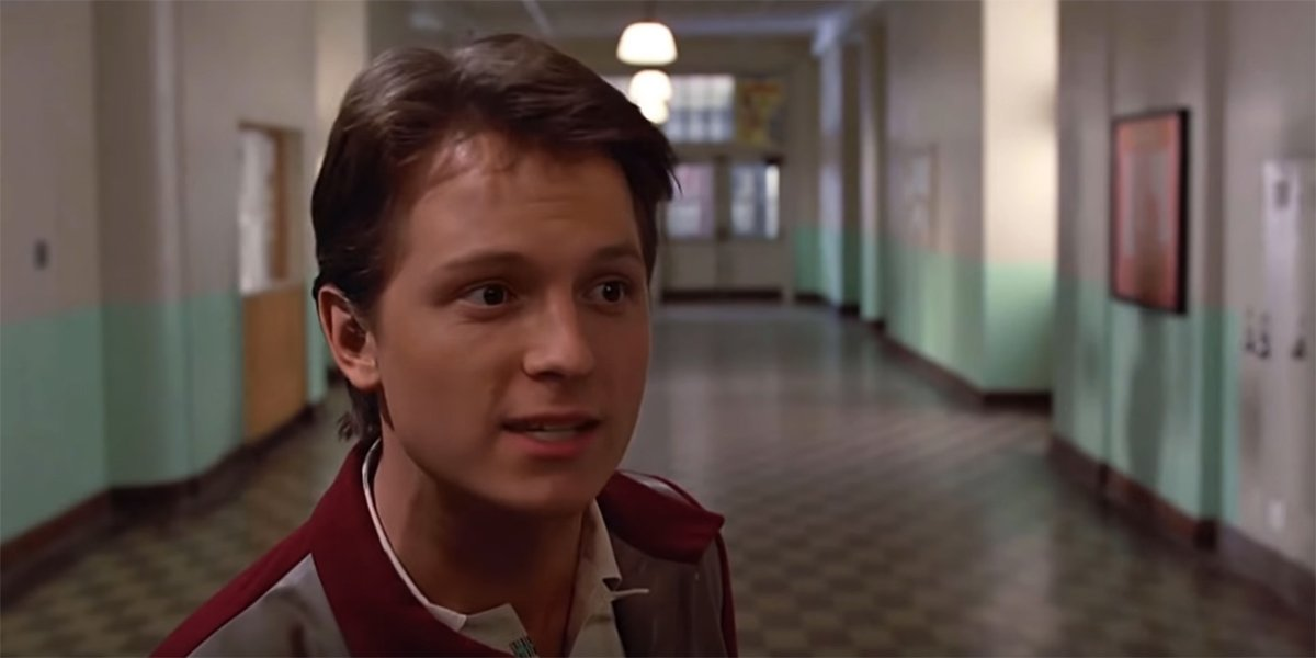 Tom Holland as Marty McFly
