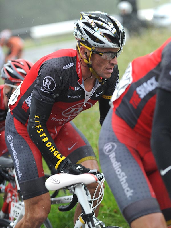 Lance Armstrong, Tour de Suisse 2010, stage 5