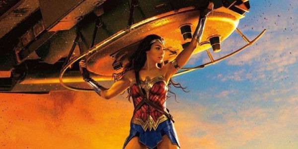Wonder Woman Holding Tank