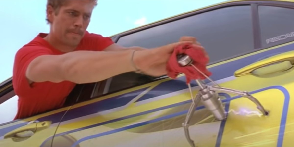 Paul Walker in 2 Fast 2 Furious