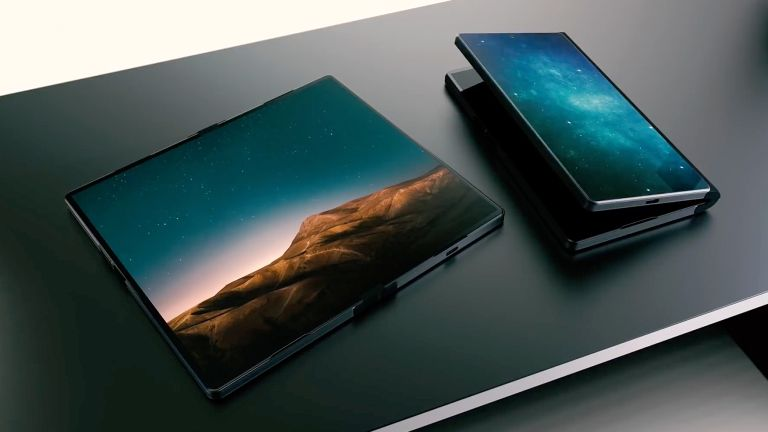 Microsoft Surface Andromeda Folding Phone