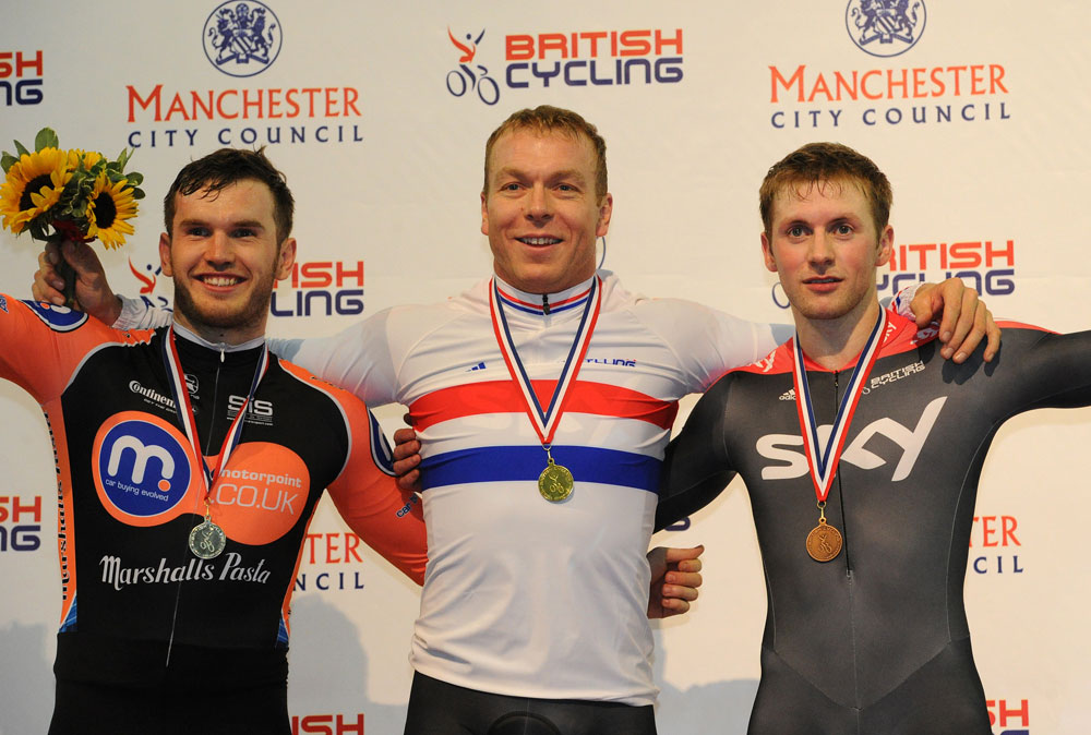 Chris Hoy tops sprint podium, British track national championships 2011, day four