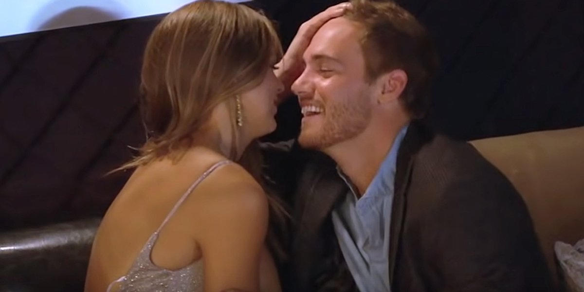 The Bachelor Peter drools over Hannah Brown in ABC promo