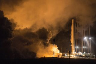 SpaceX Static-Fires Landed Falcon 9 Rocket