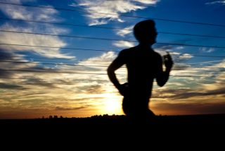Runner at sundown, health, ptsd, post traumatic stress disorder
