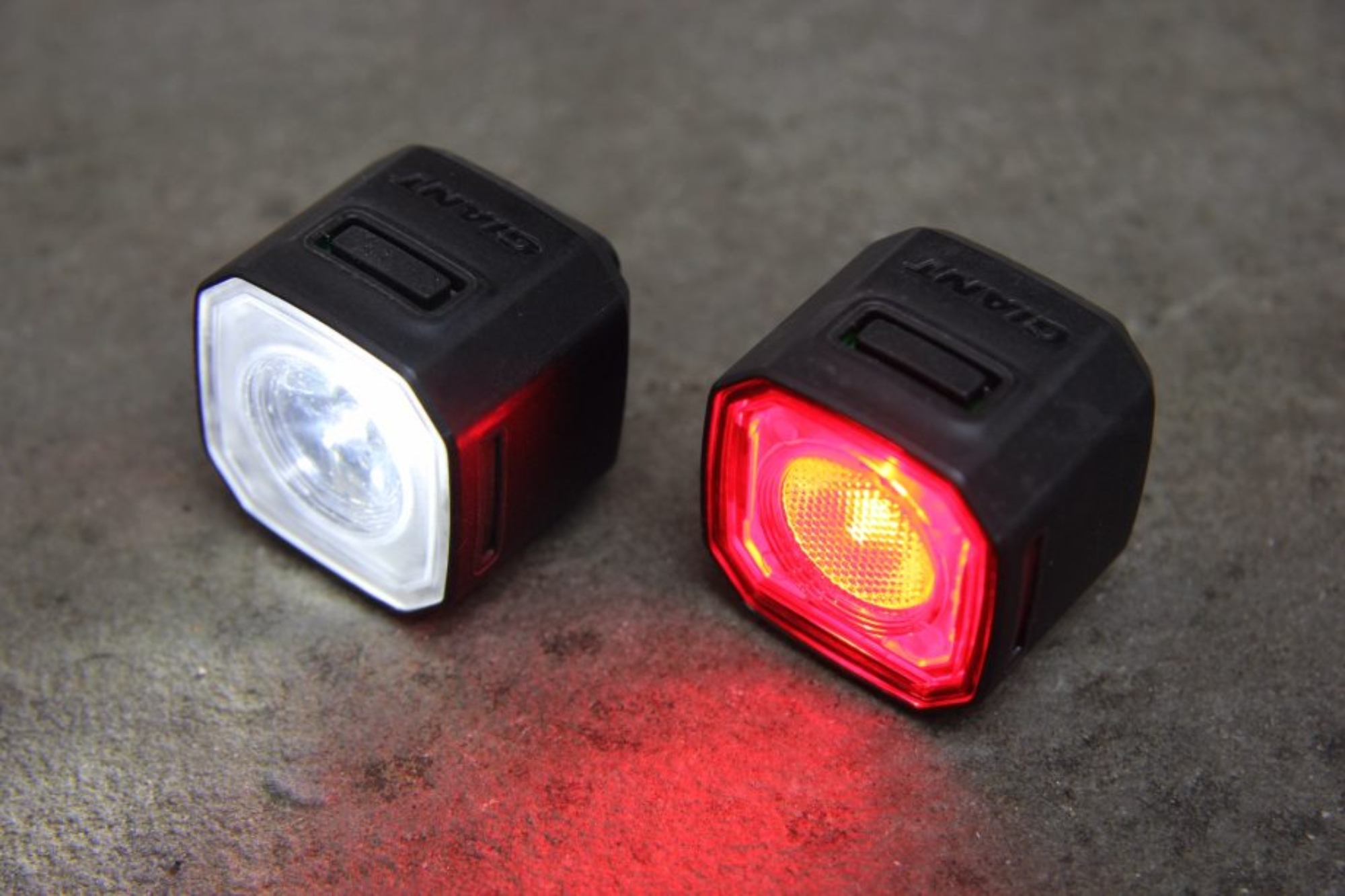 Bicycle Reflector Set Front And Rear Light Bike