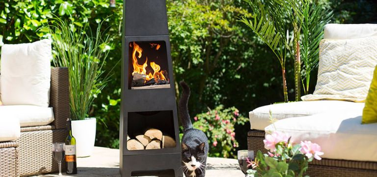 The Best Chimeneas To Heat Up Your Outdoor Space Real Homes