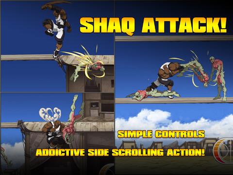 Shaq Battles Zombies In ShaqDown Mobile Game #25250
