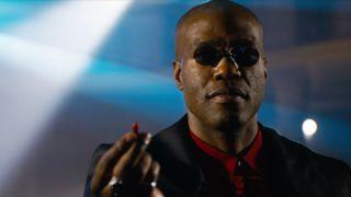Morpheus in The Matrix 4