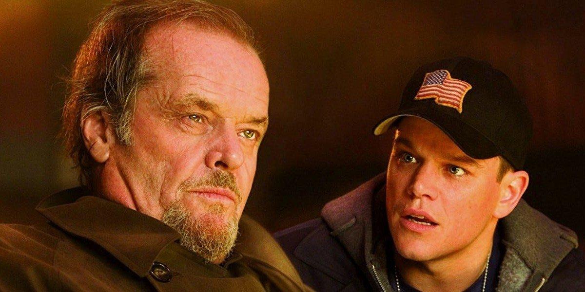 Matt Damon on the right