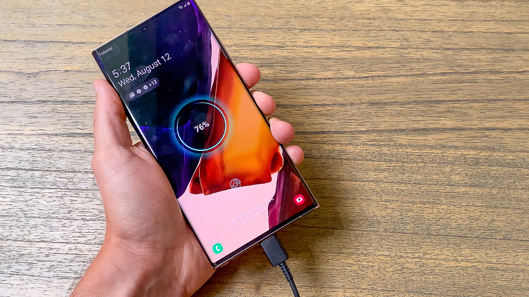 Samsung Galaxy Note 20 Ultra battery life