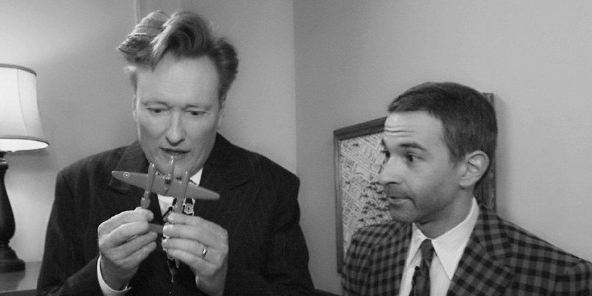 Conan O'Brien and Jordan Schlansky on Conan on TBS