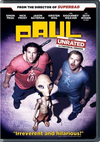 Paul Comes Home This August, Simon Pegg And Nick Frost Talk Bonus Features #4717