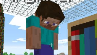Minecraft Man top