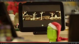 nannounced Google Nexus 10 dock appears in festive Android video