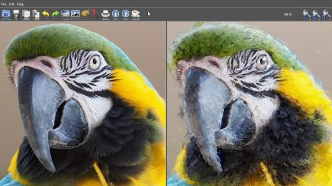 FotoSketcher is an amazing free photo editor for transforming ordinary photos into digital paintings