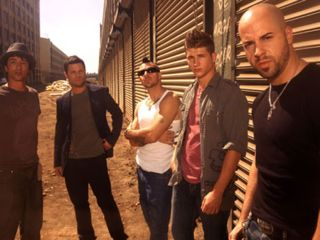 Daughtry (right) and Daughtry (left)