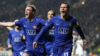 Ryan Giggs Man United Champions League