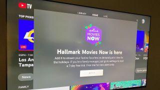 Hallmark on YouTube TV