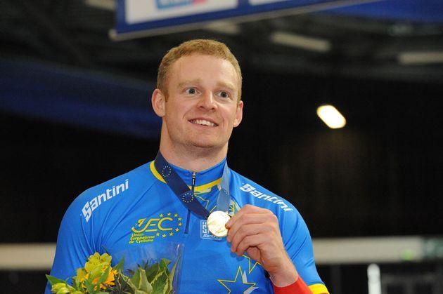 Matt Crampton wins keirin, European track champs 2011